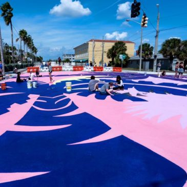 Street Plans' Workshop with West Palm Beach Results in Intersection Mural