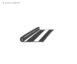 Black Floor Mats