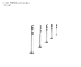 High Performance Delineator Post