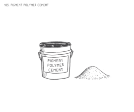 Pigment Polymer Cement