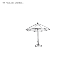 Movable Umbrella
