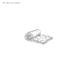 Sod (Live Grass)